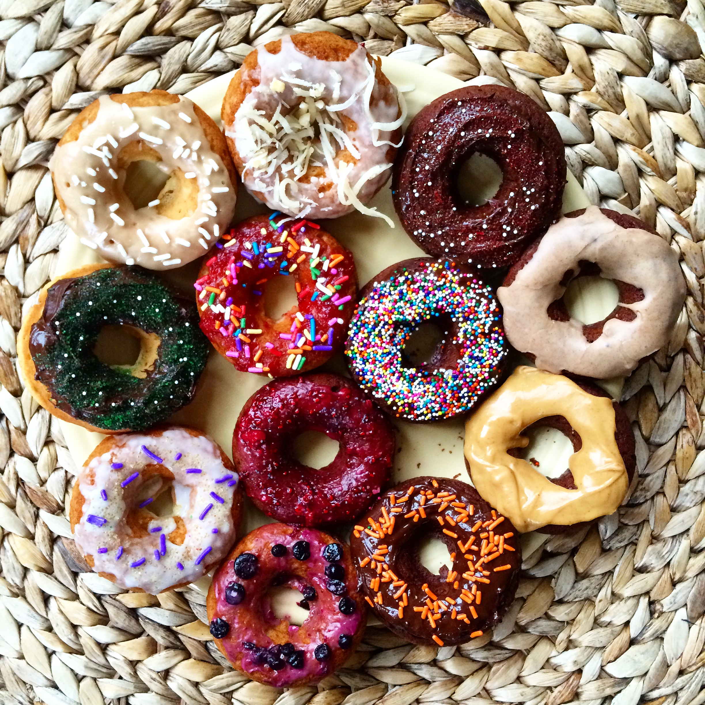 National Donut Day 50 Vegan Donuts Round Up The